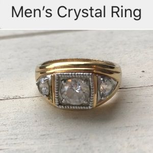 Other - Men's Trio Crystal Ring